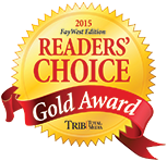 Readers' choice Gold Award 2015 - Advanced Hearing Center